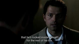 Cas giải thích rằng việc lấy lại linh hồn của Sam có thể hậu quả sẽ vô cùng nghiêm trọng, linh hồn của Sam có thể sẽ bị tổn thương vĩnh viễn và Sam sẽ tự nhốt mình suốt quãng đời còn lại.