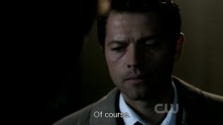 """""""Đương nhiên."""" Cas nói."""