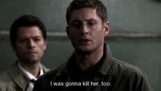 """""""Tôi vốn định giết cô ta luôn."""" - (Đấy, Dean lòi đuôi ghen ra rồi nhá =))) móe, mới hôn vợ anh có một cái mà anh làm thấy ghê~)"""