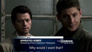 """""""Sao tôi lại muốn điều đó chứ?"""" Cas ngây thơ hỏi lại =))))))"""