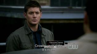 """Cas thú nhận với Dean, """"Crowley nói đúng, mọi việc không..."""