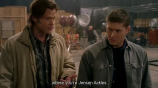 """Sam phân tích tình hình: """"Chúng ta đã đáp xuống một thế giới mà anh là Jensen Ackles..."""