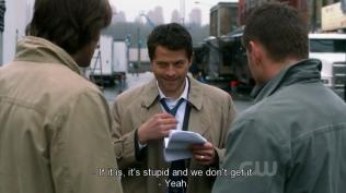 Cái nụ cười của Misha trong bộ dạng Cas thiệt khó đỡ =))))