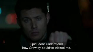 """Cas nói, """"Tôi chỉ không hiểu làm sao mà Crowley có thể lừa được tôi."""""""