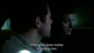 """""""Vậy thì việc quan trọng là tìm ra hắn và xử hắn."""" Dean kết luận."""