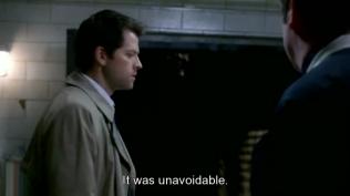 """Cas bào chữa, """"Việc đó là không thể tránh được."""""""