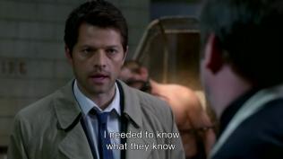 """""""Tôi cần biết những gì mà họ biết."""" Cas viện cớ :"""">"""
