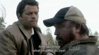 """""""Và rồi tôi đã biết mình cần phải làm gì tiếp theo."""" Cas từng bước nhớ lại."""