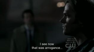 """""""Việc đó gần như là không thể... nhưng tôi đã rất tự tin mình sẽ hoàn thành nhiệm vụ... Và bây giờ tôi đã hiểu, đó là ngạo mạn..."""" Cas thầm nghĩ."""