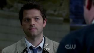 """""""Không."""" Cas dứt khoát đáp. - """"Được thôi."""" Crowley nói."""