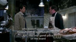 Crowley vô cùng bất an tức giận vì Dean và Sam.