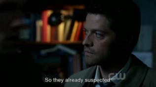 """""""Vậy là họ đã nghi ngờ."""" Cas thầm nghĩ."""