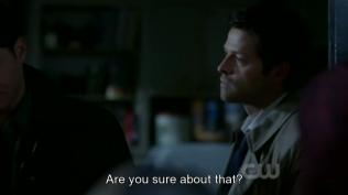 Nhìn cái cách mà Cas nhìn theo Dean kìa TT ^ TT