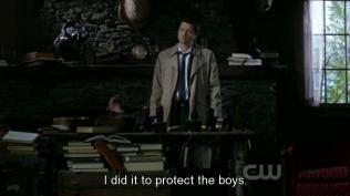 """""""Tôi làm thể để bảo vệ các cậu ấy."""""""