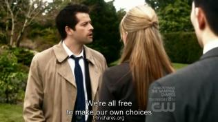 Cas đã nói với các anh chị em của mình là mỗi người bọn hoj đều có quyền tự do lựa chọn.