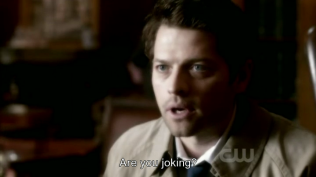 """Giỡn mặt hả ku?"" =)) Cas nói."
