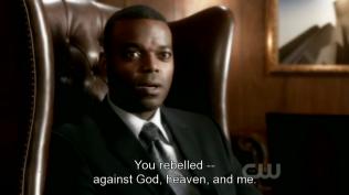 """""""Ngươi đã chống lại Chúa, Thiên Đường, và ta."""" Rap nói."""