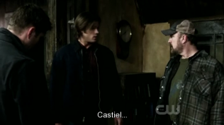 Bobby và Sam đã đồng ý để Dean gọi Cas.