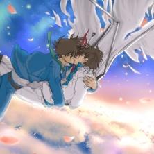 Even if the sky is falling down ~~ Downnnn~~~