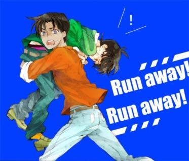 Chạy! Chạy mau!