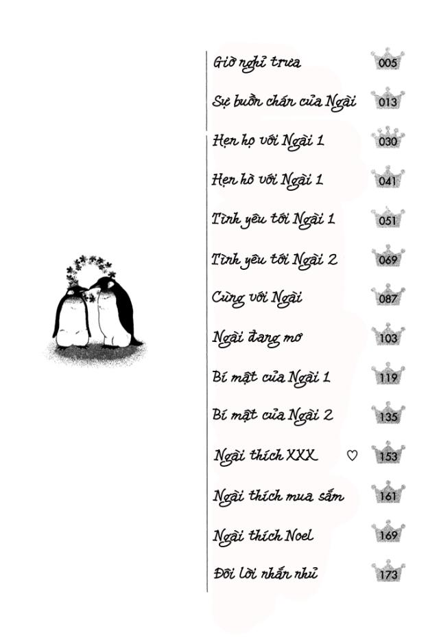 Ousama ni Kiss! vol01 ch01 pg004 - Contents