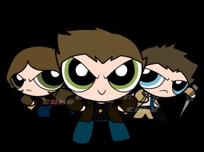 Oh yeah ~ power fluff boys =))