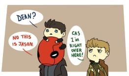 Thông tin thêm: Jensen đã lồng tiếng cho cậu Jason trong Batman =))) *tấm này là cho cô Med *