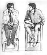 Khi Cas và Misha cùng xuất hiện trong phỏng vấn =)))