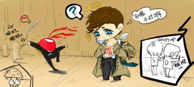 các thiên thần khác vì thấy em nó cởi áo nên mất máu mũi mà chết =)))))))