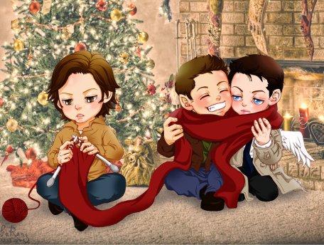 Đan khăn choàng cho mùa đông ấm nào ~