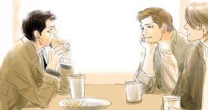 Cậu Dean nhìn đã no rồi =))