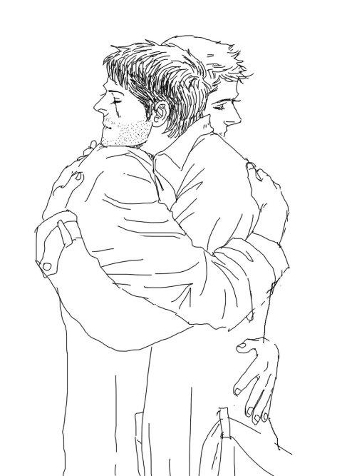 cuối cùng cũng được ôm anh trong vòng tay