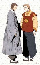 Dean và Cas mặc hanbok~