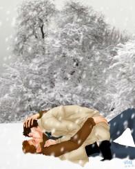 Trên tuyết