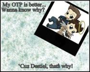 Destiel forever!!!!