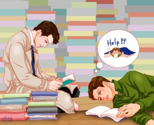 Dean rất lười học ~~