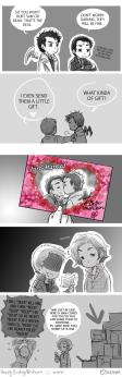 A... =)) phải ha, khi lập giao kèo thì chẳng phải Crowley sẽ hôn Cas sao? =)))))))