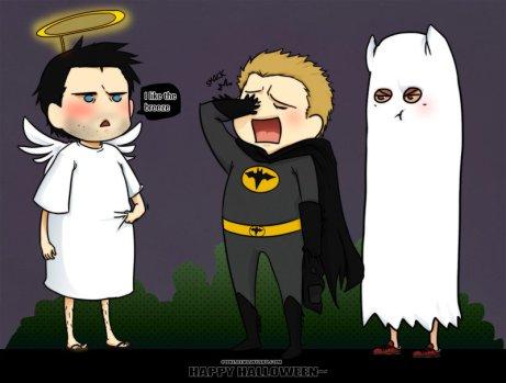 Vì sao cậu Dean luôn cos chú Dơi =))))