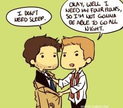 anh không cần ngủ nhưng tôi cần ~