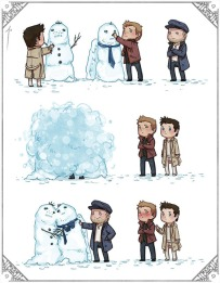 Yeah ~ anh ấy ship Destiel ~~