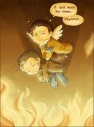Dean, cậu phải giảm cân ~~