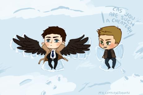 thiên thần tuyết 3