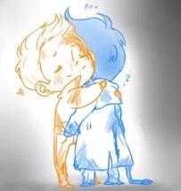 Yeah, that hug ~