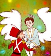 chàng thiên thần và chú lính chì