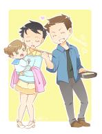 gia đình hạnh phúc =)))