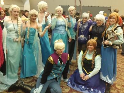 Frozen - công nhận cái theme đổi giới của Elsa hơi bị được yêu thích =)))