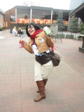 Mikasa này rất dễ thương, hơi tăng động chút =)))))