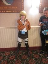 Armin rất dễ thương