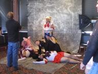 Một dàn Sailormoon la liệt =))))